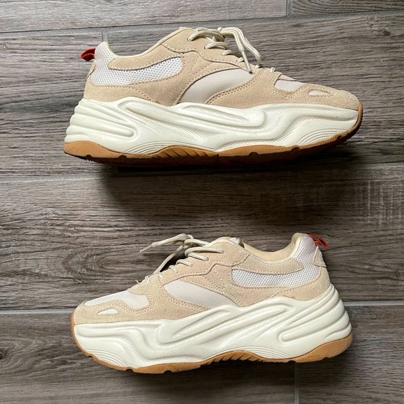 ZARA Platform sneakers like new perfect condition!